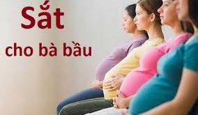 Tác hại của thiếu sắt trong thời kỳ mang thai